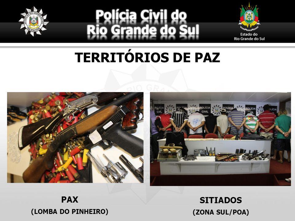 TERRITÓRIOS DE PAZ PAX (LOMBA DO PINHEIRO) SITIADOS (ZONA SUL/POA)