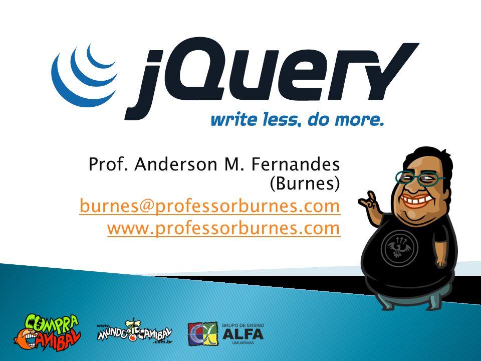 Prof. Anderson M. Fernandes (Burnes) burnes@professorburnes.com www.professorburnes.com