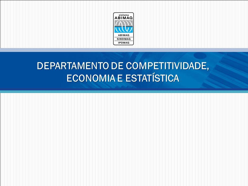 DEPARTAMENTO DE COMPETITIVIDADE, ECONOMIA E ESTATÍSTICA