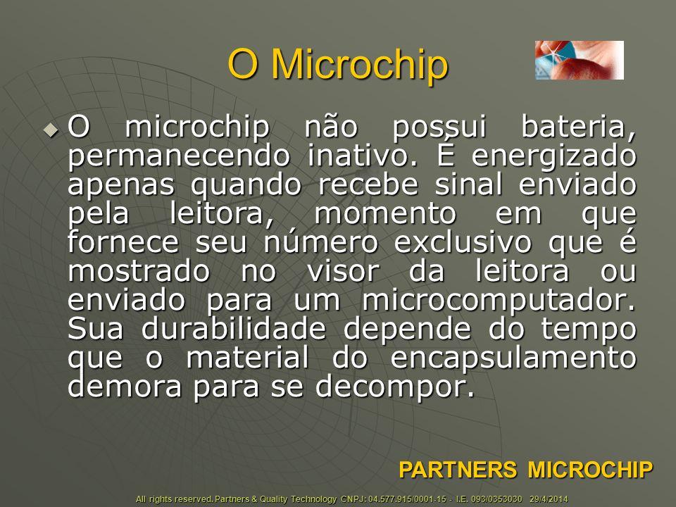O Microchip É um método 100% seguro e eficaz de identificação.