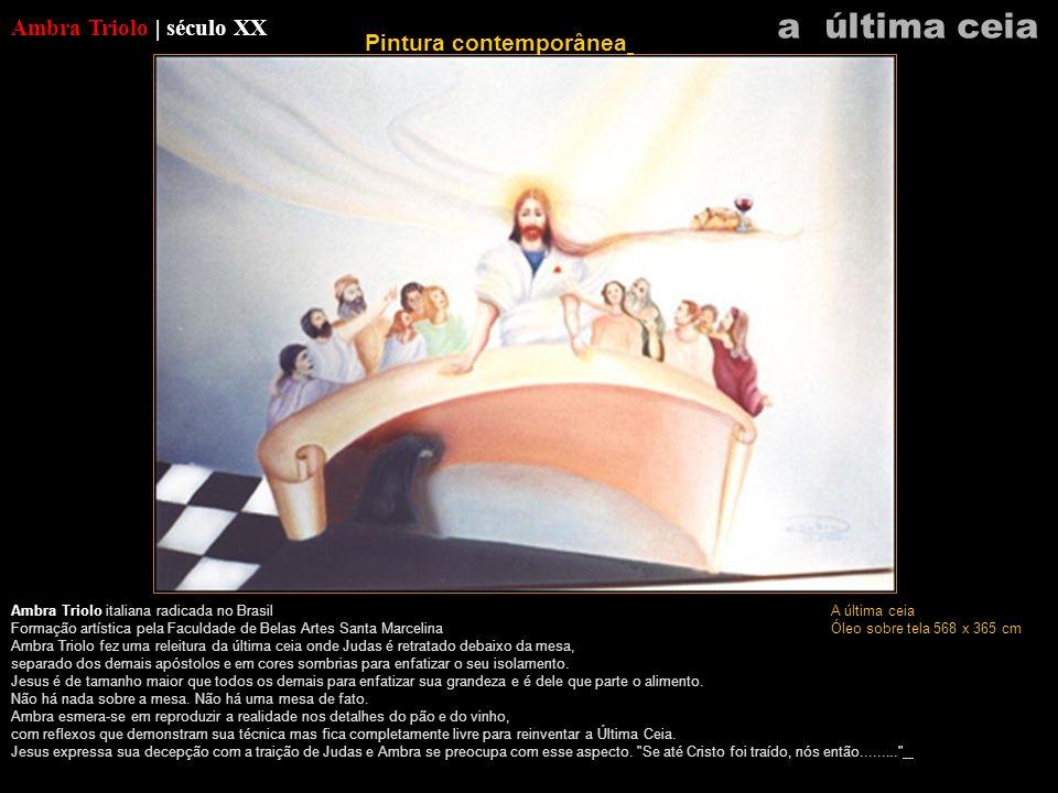Ambra Triolo | século XX Ambra Triolo italiana radicada no Brasil Formação artística pela Faculdade de Belas Artes Santa Marcelina Ambra Triolo fez um