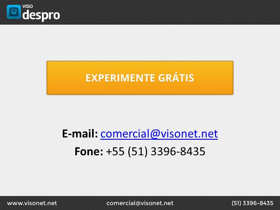 E-mail: comercial@visonet.netcomercial@visonet.net Fone: +55 (51) 3396-8435