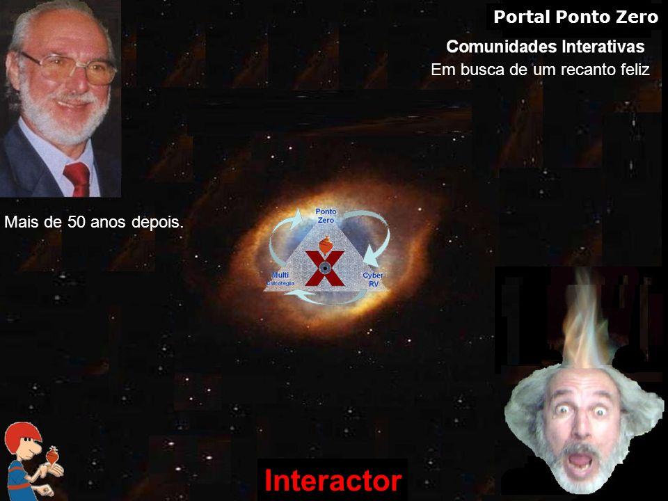 www.interactor.com.br 1913 Interactor Em busca de um recanto feliz Portal Ponto Zero Mais de 50 anos depois.