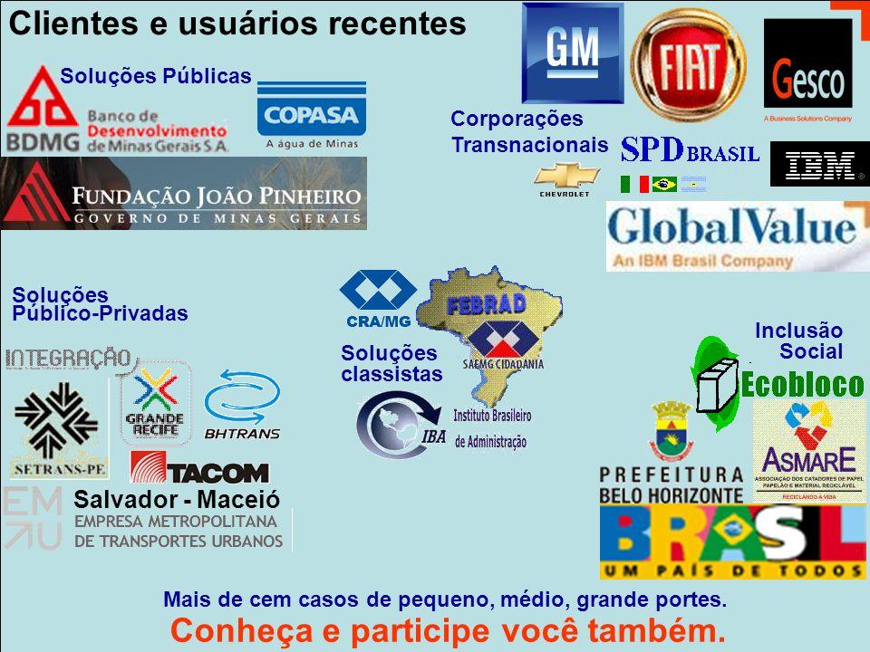 www.interactor.com.br 1913 Clientes e usuários recentes Conheça e participe você também.