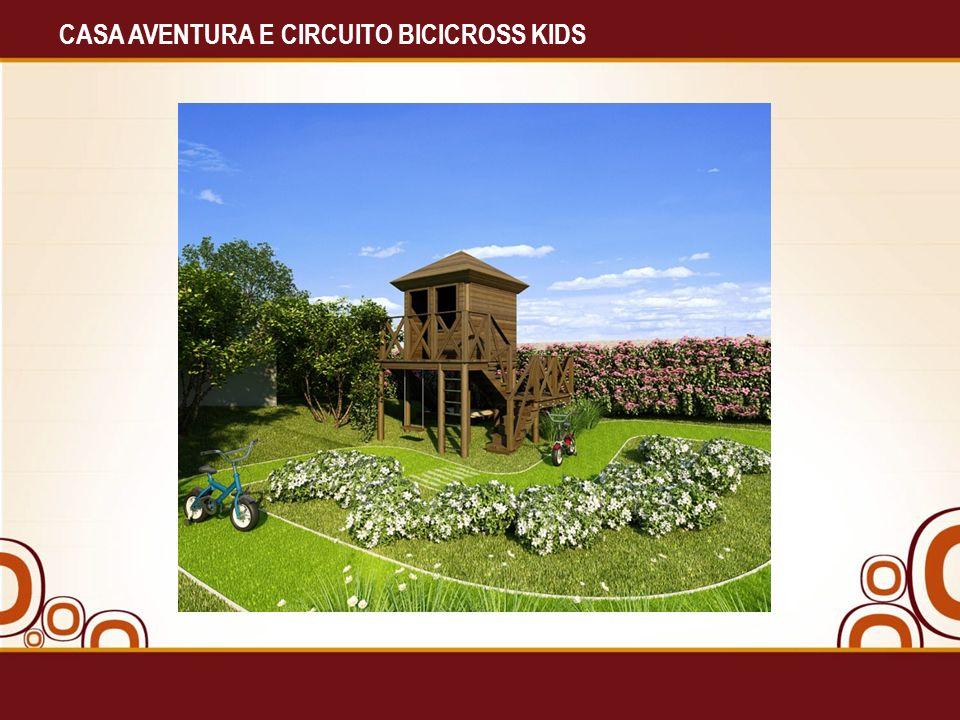 CASA AVENTURA E CIRCUITO BICICROSS KIDS