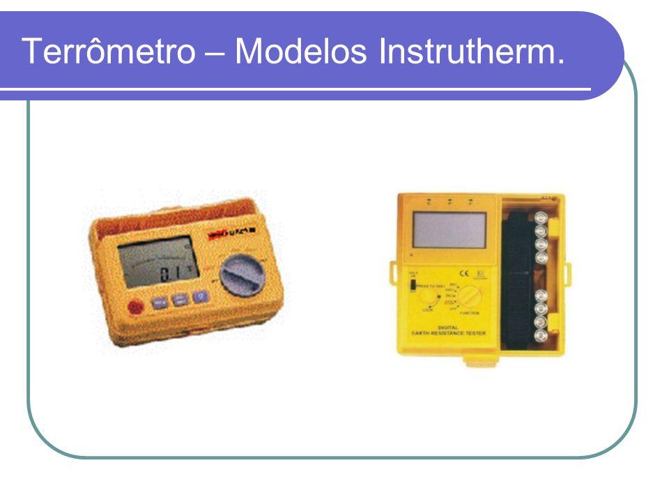 Terrômetro – Modelos Instrutherm.