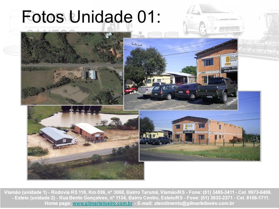 -Viamão (unidade 1) - Rodovia RS 118, Km 036, nº 3068, Bairro Tarumã, Viamão/RS - Fone: (51) 3485-3411 - Cel. 9973-6406. - Esteio (unidade 2) - Rua Be