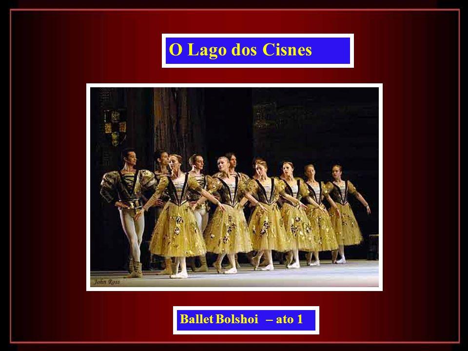 Ballet Bolshoi – ato 1 O Lago dos Cisnes
