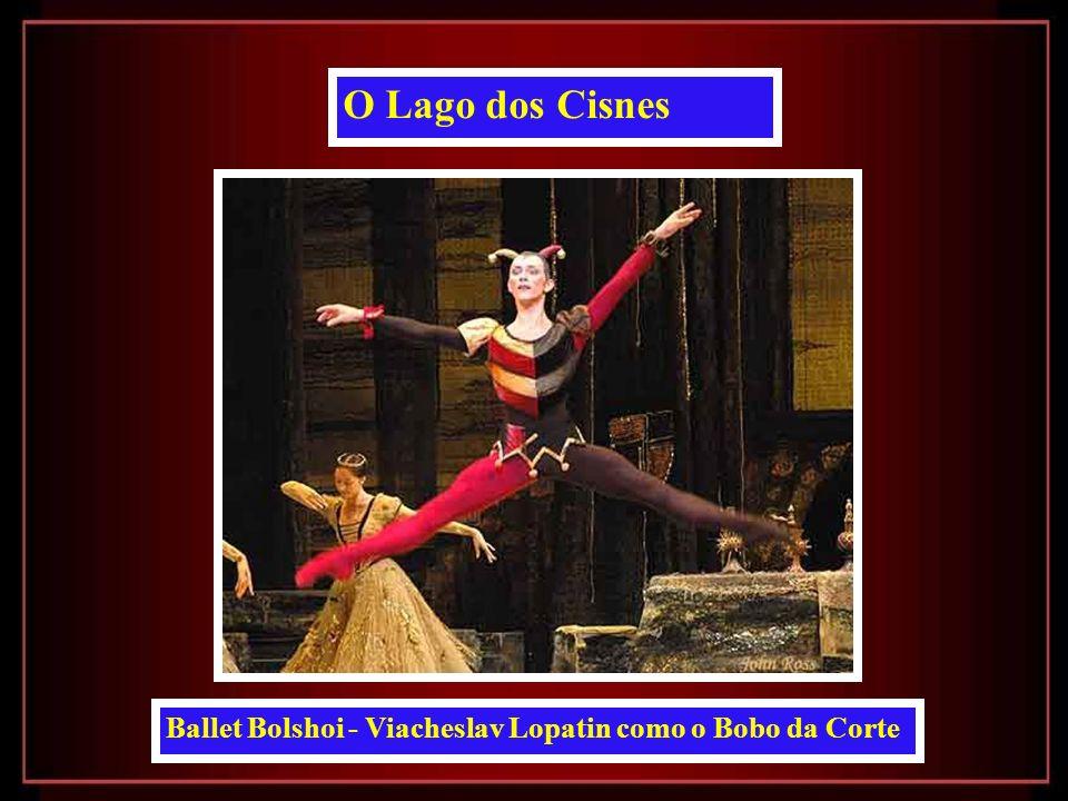 Ballet Bolshoi - Príncipe Siegfried e Cavalheiros da Corte O Lago dos Cisnes