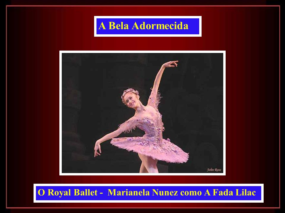 O Royal Ballet - Marianela Nunez como A Fada Lilac