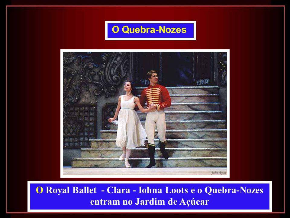 O Royal Ballet - Clara - Iohna Loots e o Quebra-Nozes entram no Jardim de Açúcar O Quebra-Nozes