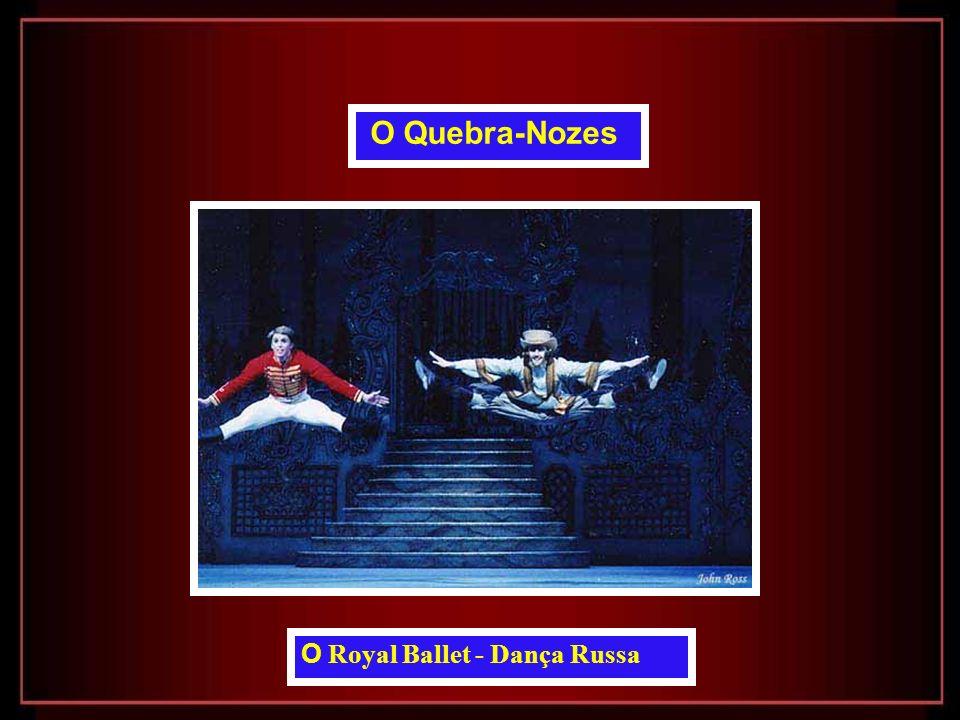 O Royal Ballet Ricardo Cervera e Roberta Marquez e Ivan Putrov O Quebra-Nozes