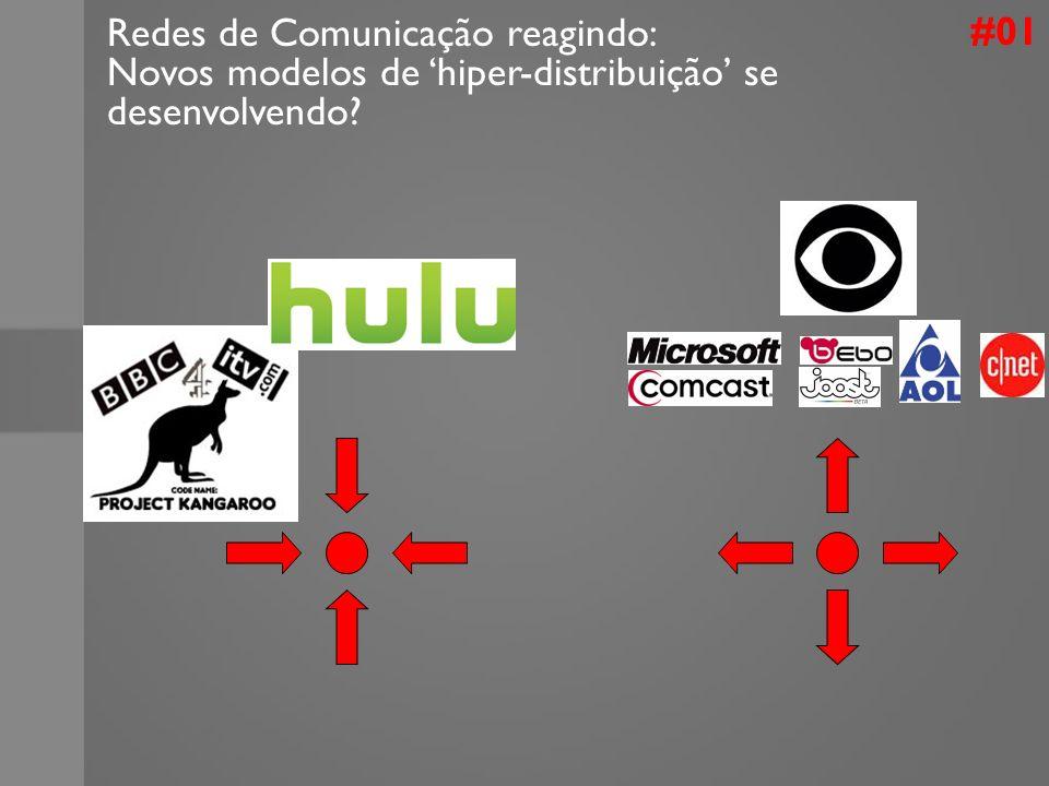 #01 Redes de Comunicação reagindo: Novos modelos de hiper-distribuição se desenvolvendo?