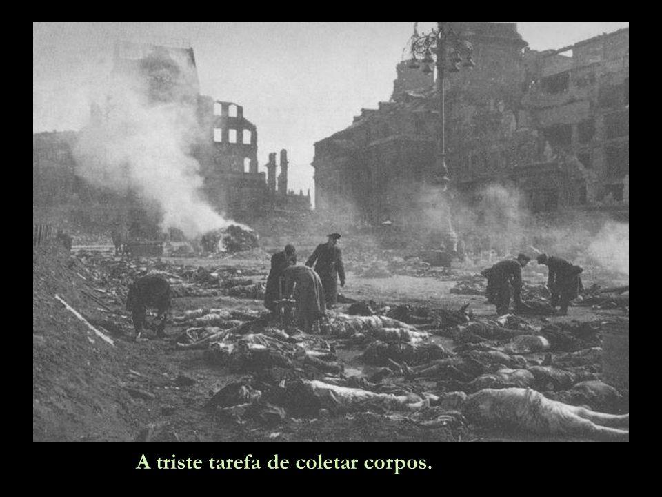 Para evitar doenças, os corpos foram cremados.