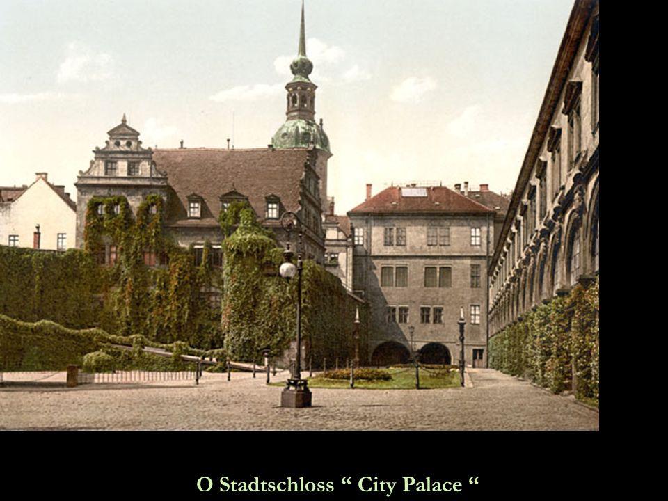 O Stadtschloss City Palace