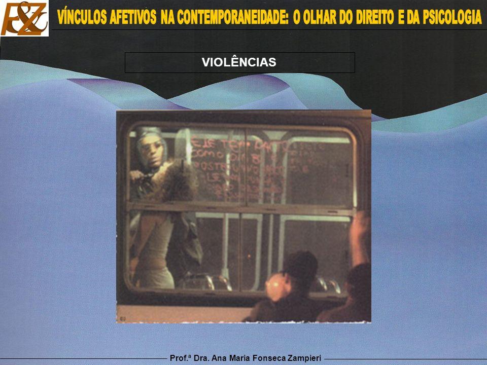 Prof.ª Dra. Ana Maria Fonseca Zampieri VIOLÊNCIAS