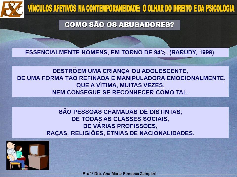 Prof.ª Dra. Ana Maria Fonseca Zampieri SÃO PESSOAS CHAMADAS DE DISTINTAS, DE TODAS AS CLASSES SOCIAIS, DE VÁRIAS PROFISSÕES, RAÇAS, RELIGIÕES, ETNIAS