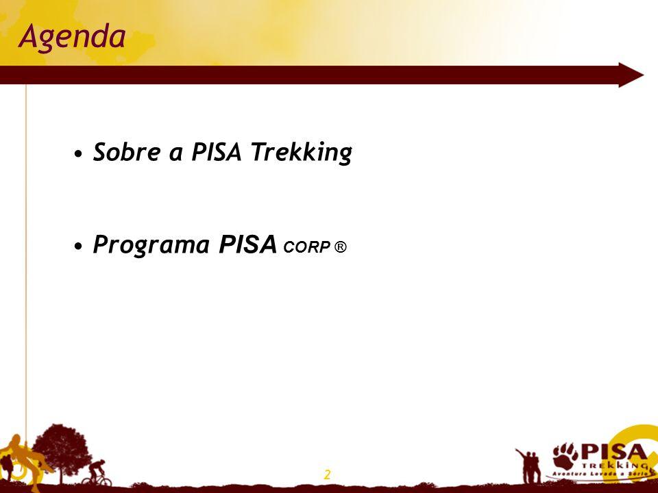 2 Agenda Sobre a PISA Trekking Programa PISA CORP ®