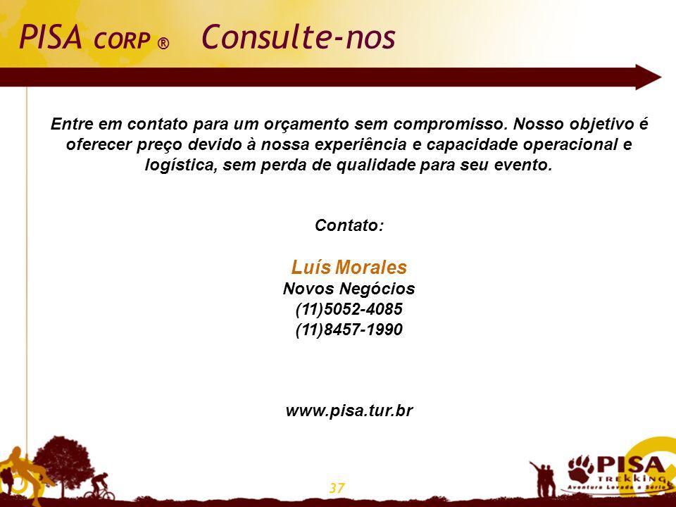 37 PISA CORP ® Consulte-nos Entre em contato para um orçamento sem compromisso. Nosso objetivo é oferecer preço devido à nossa experiência e capacidad