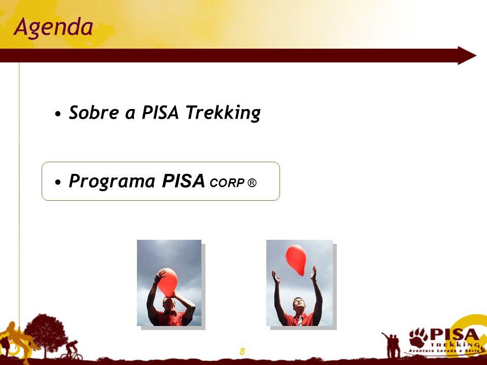 8 Agenda Sobre a PISA Trekking Programa PISA CORP ®