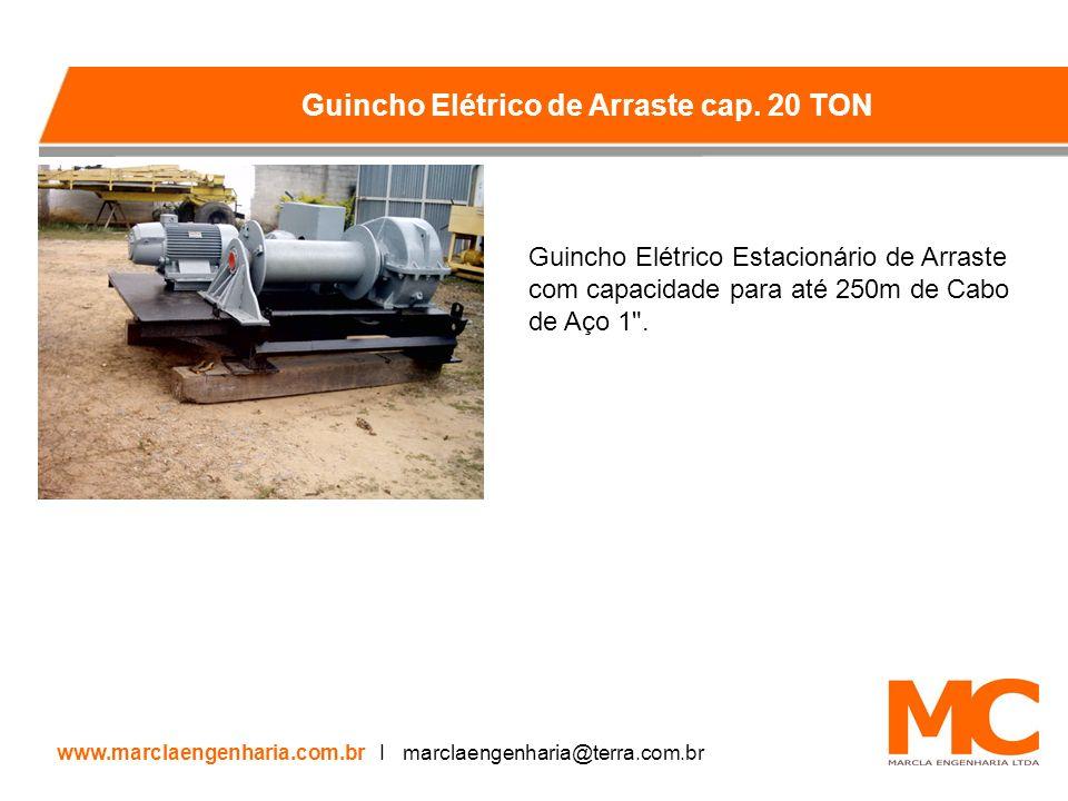 Guincho Elétrico Estacionário de Arraste com capacidade para até 250m de Cabo de Aço 1 .