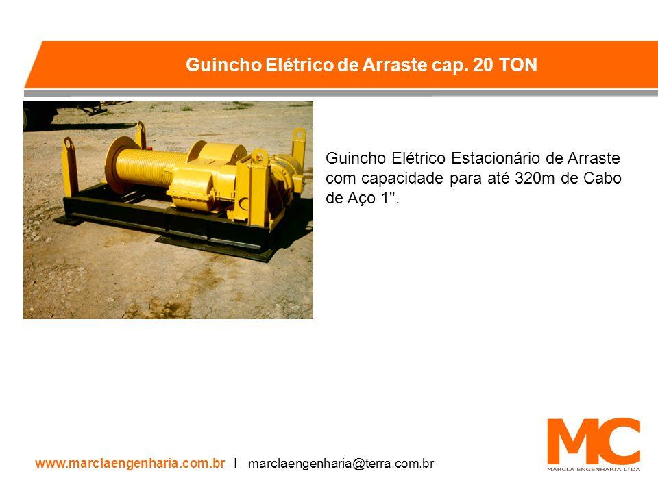 Guincho Elétrico Estacionário de Arraste com capacidade para até 320m de Cabo de Aço 1 .