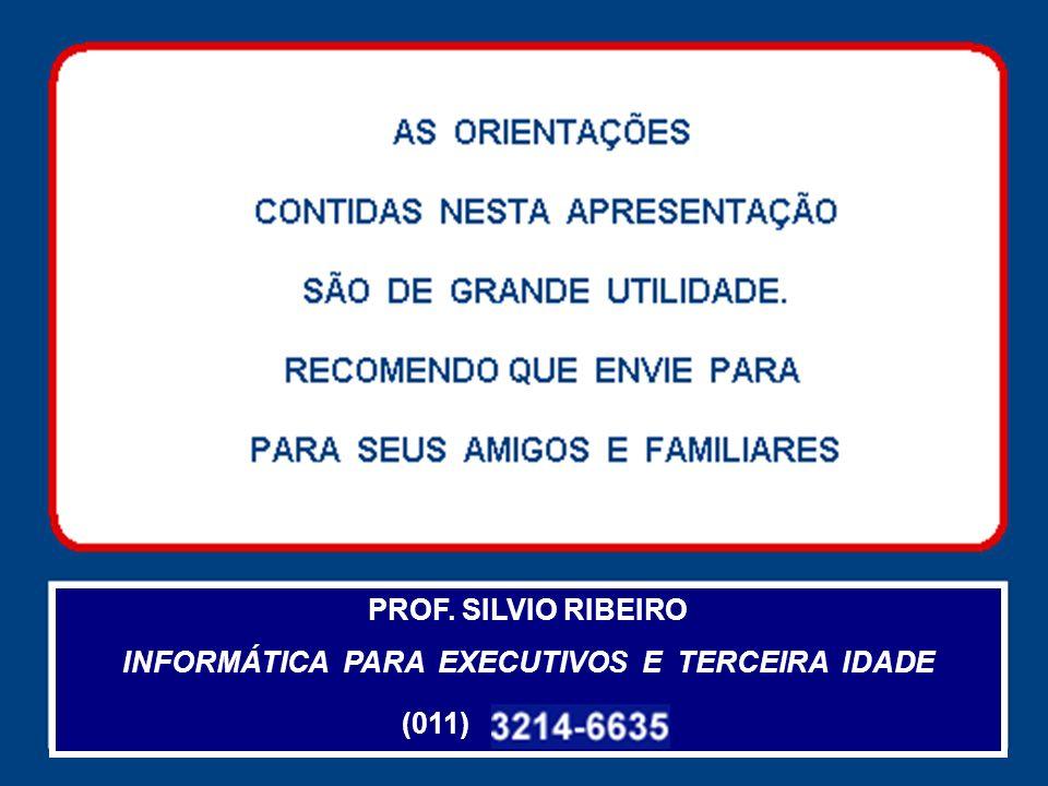 7 DSMS TI 006 PROF. SILVIO RIBEIRO INFORMÁTICA PARA EXECUTIVOS E TERCEIRA IDADE (011)
