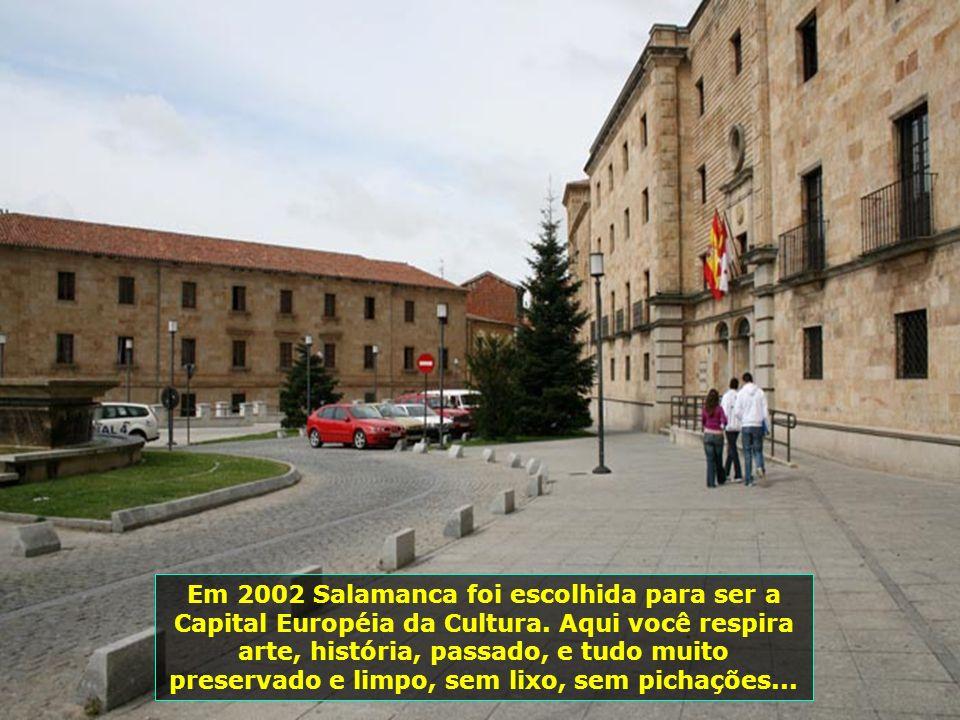 Salamanca é uma das cidades espanholas mais ricas em monumentos da Idade Média, do renascimento e das épocas clássica e barroca...