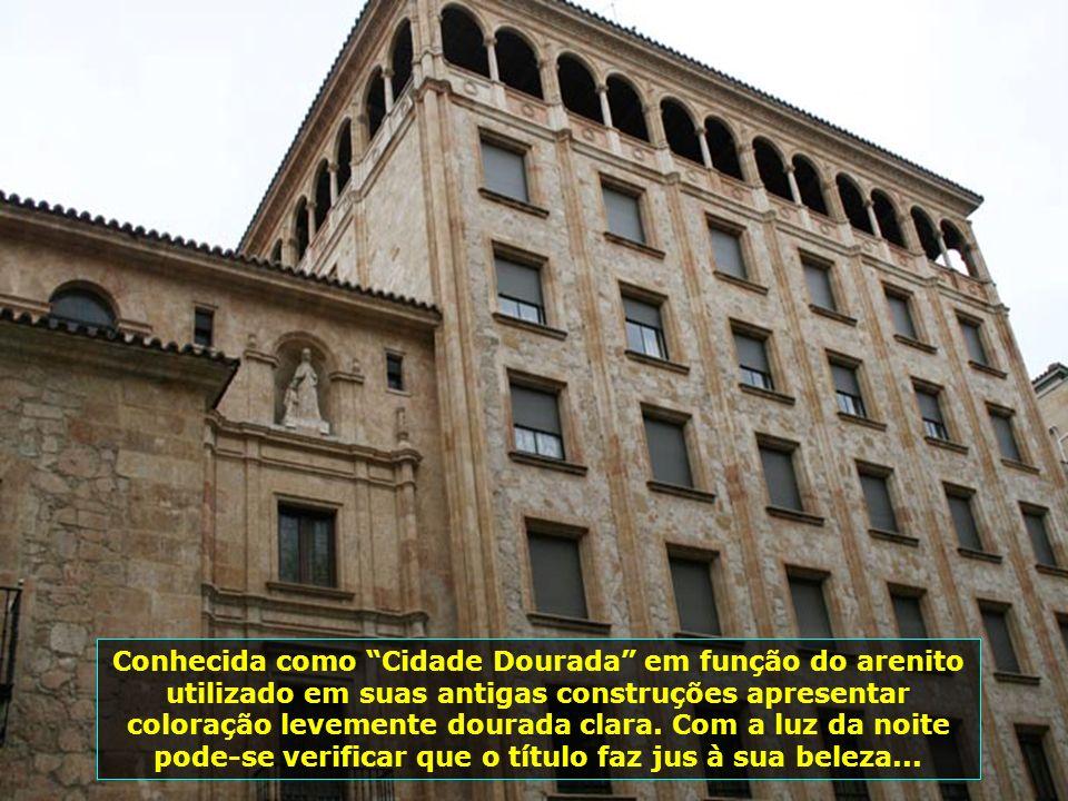 Em 2002 Salamanca foi escolhida para ser a Capital Européia da Cultura. Aqui você respira arte, história, passado, e tudo muito preservado e limpo, se