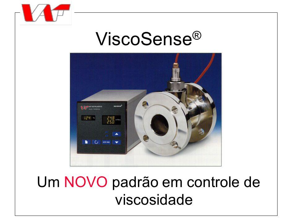 ViscoSense ® Um NOVO padrão em controle de viscosidade