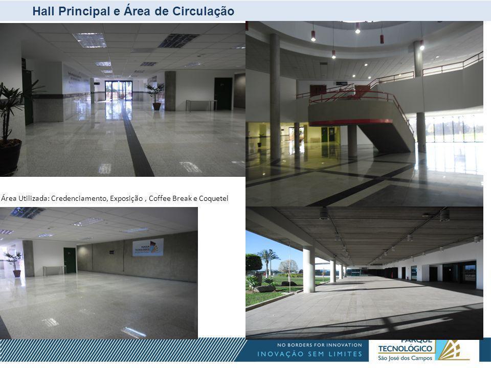 Estacionamentos e Heliponto Estacionamento Superior e Heliponto Estacionamento Bolsão Estacionamento Principal