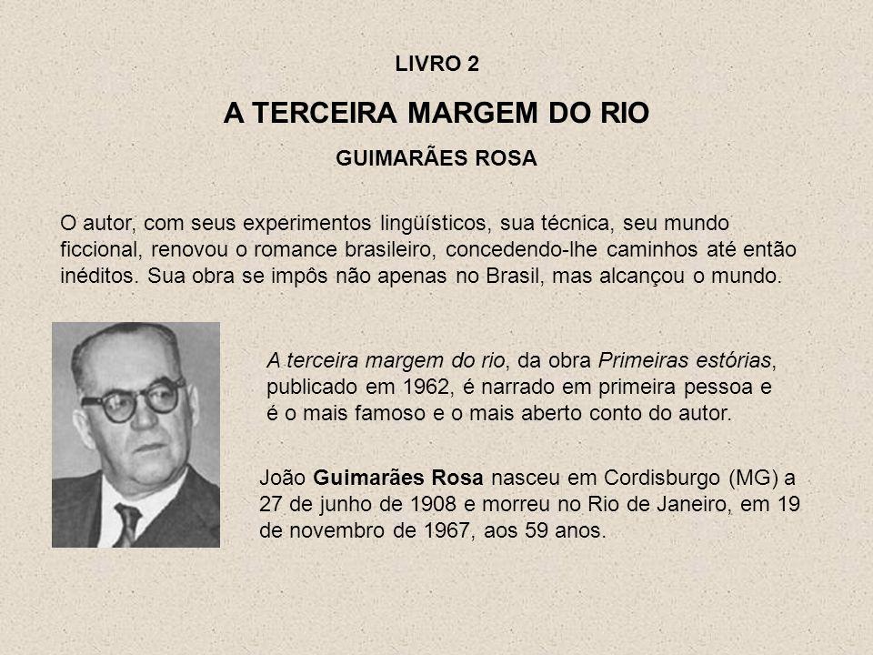 João Guimarães Rosa nasceu em Cordisburgo (MG) a 27 de junho de 1908 e morreu no Rio de Janeiro, em 19 de novembro de 1967, aos 59 anos. O autor, com