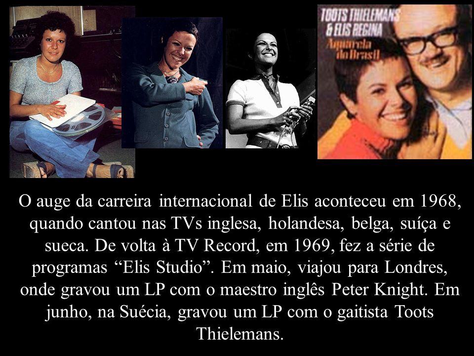 Em junho de 1967 o programa saiu do ar, porém, Elis continuou ao lado de Jair Rodrigues nos três programas da série Frente Única - Noite da MPB (TV Re