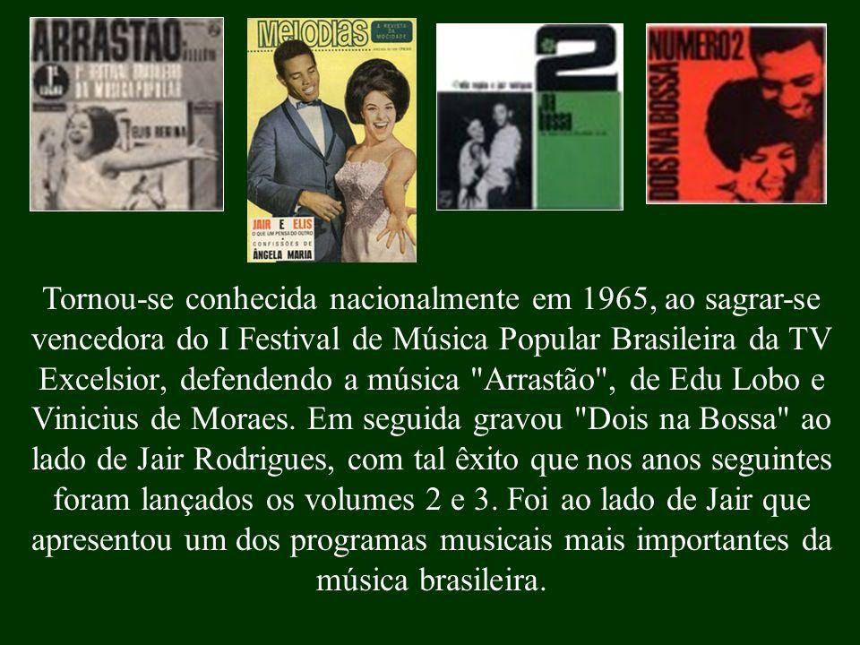 . Em seguida voltou para Porto Alegre, onde ficou até 1964, quando regressou definitivamente para o Rio. Cantou no Beco das Garrafas, reduto da bossa