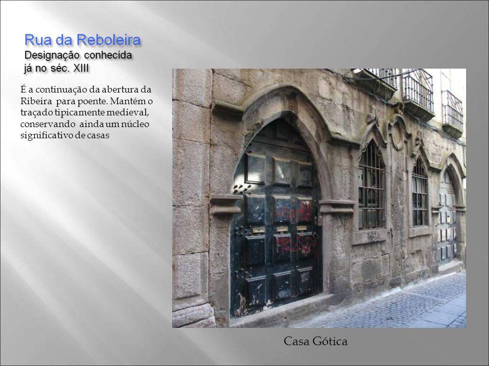 A Medieval Rua Fonte Taurina já conhecida no séc. XIII