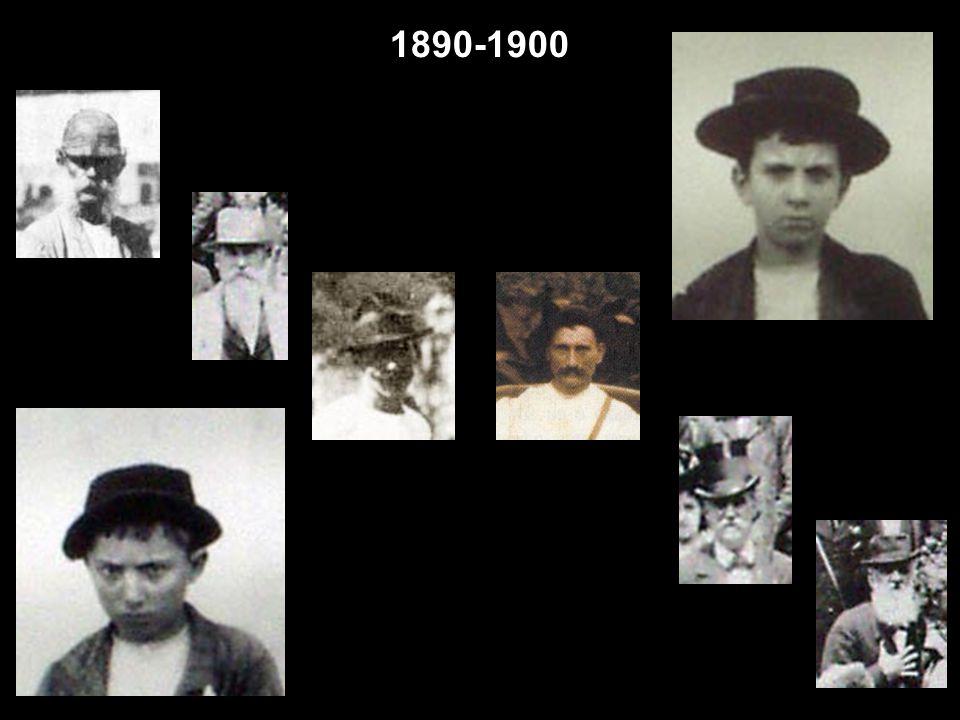 1894 Pic-nic no Corcovado – Foto: Juan Gutierrez. 1895 Vendedores de frutas. Vendedores de jornais com exemplares de O Paiz e de A Notícia – Foto: Mar