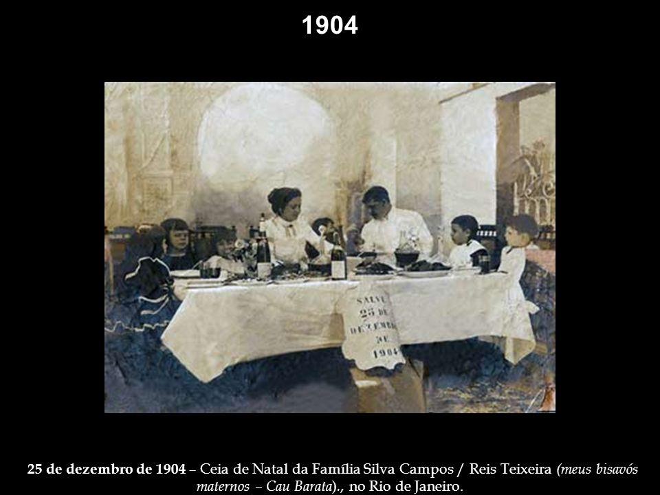1902 Grupo de atores encenando, no dia 13 de maio de 1902, no Teatro Lucinda – cena: apoteóse do episódio alegórico à lei áurea, que aboliu a escravid