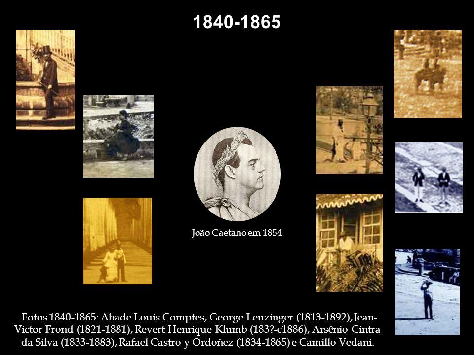 1862 Raro registro fotográfico de um ritual de cultura africana - Congada. Foto: Arsênio da Silva. 1864 Curiosos, nos janelões do Paço Imperial, assis