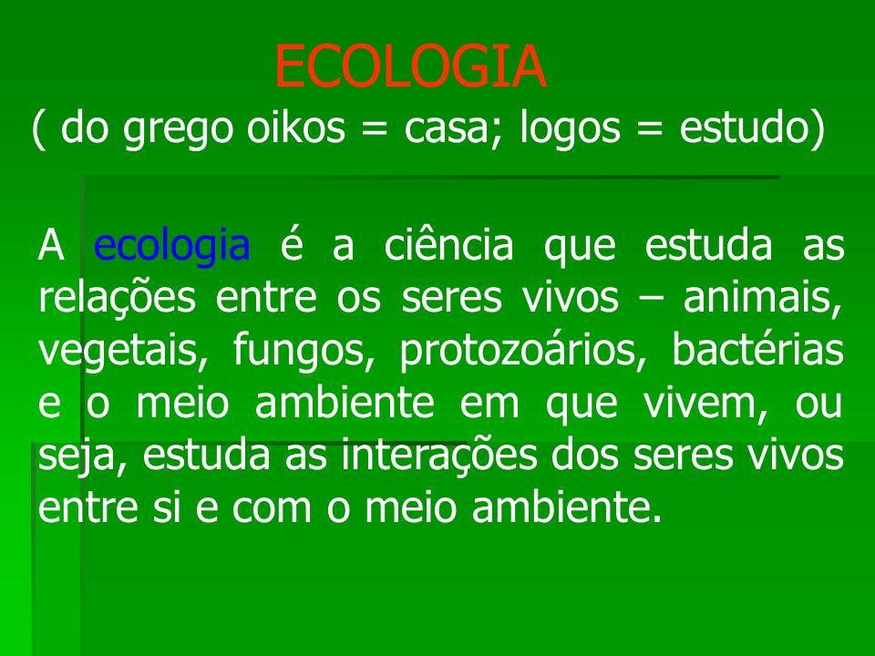 É um termo utilizado por alguns ecólogos para significar uma porção da biosfera, que devido ao seu tipo de clima, contém vegetação característica e determinado tipo de vida animal.