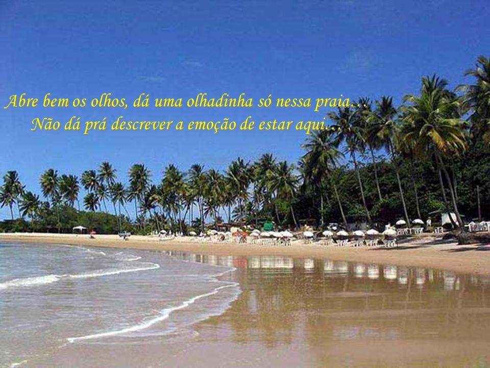 Praia do Coqueirinho, com suas areias límpidas e águas transparentes…. Praia do Coqueirinho, com suas areias límpidas e águas transparentes….