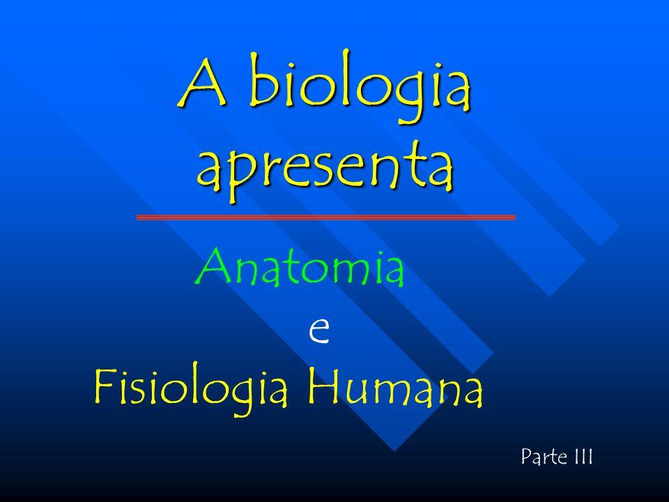 A biologia apresenta Anatomia e Fisiologia Humana Parte III