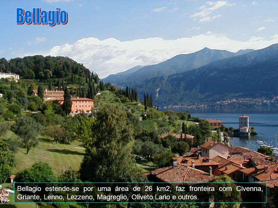 Bellagio é uma comuna italiana da região da Lombardia, província de Como, com cerca de 2.945 habitantes. Aqui é o porto da cidade de onde se sai e se