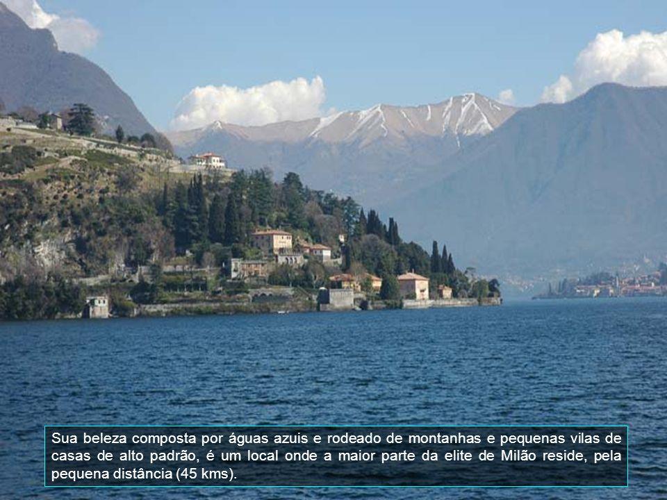 Tem mais de 400 m de profundidade, é um dos lagos mais profundo na Europa e no fundo do lago é de mais de 200 metros (656 pés) abaixo do nível do mar.
