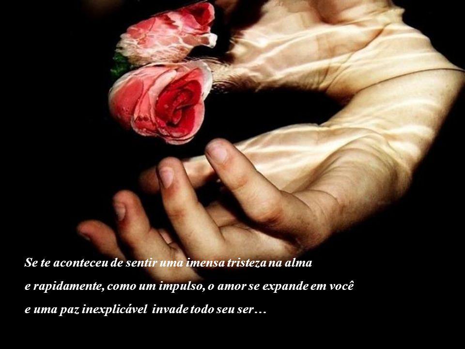 …foi Deus que incessantemente toma nossos problemas em suas mãos e nos ajuda a resolvê-los.