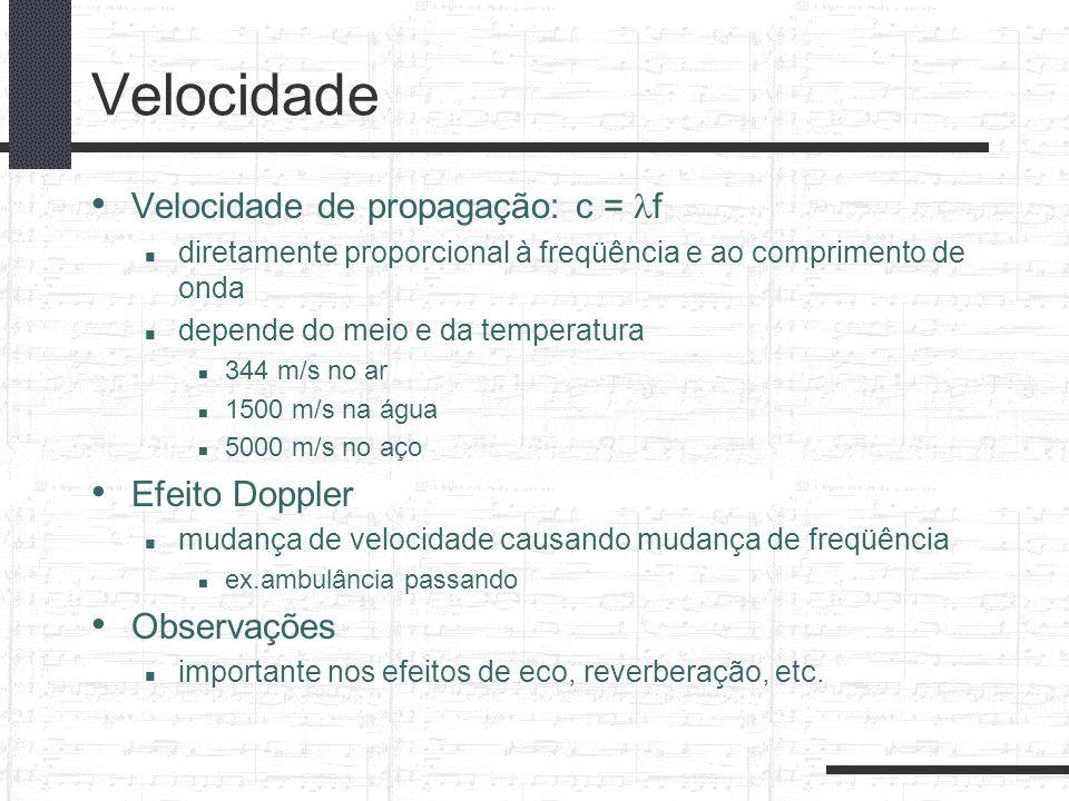Comparação das Escalas Musicais GrauNotaRazão Justa Freq.