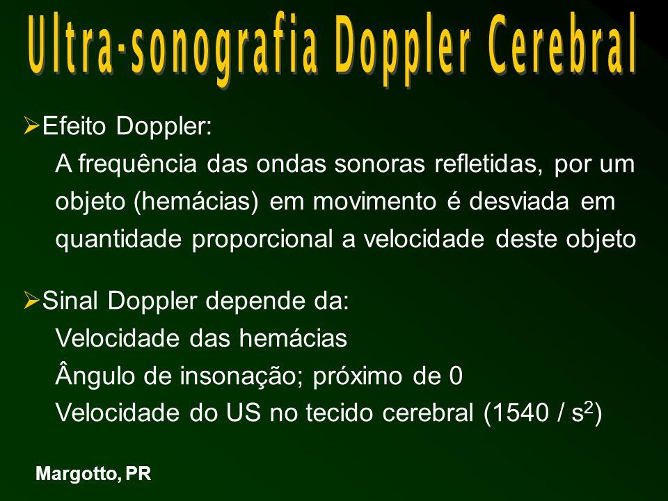 US Doppler – Aneurisma Veia de Galeno RN com grande cisto no plexo coróide e grave ICC Margotto, PR