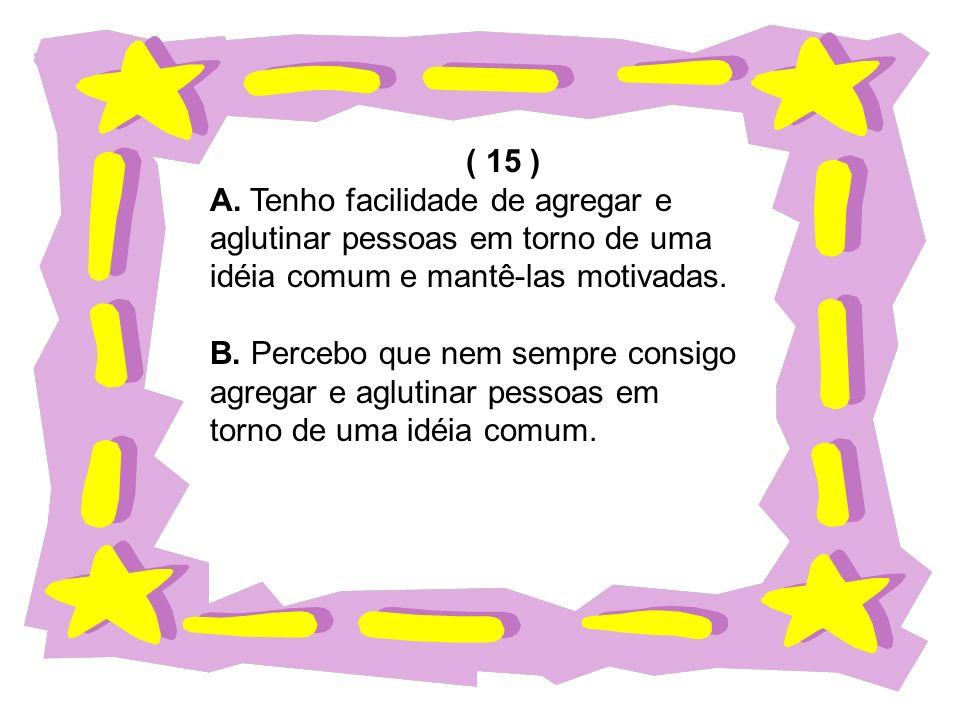 ( 15 ) A.