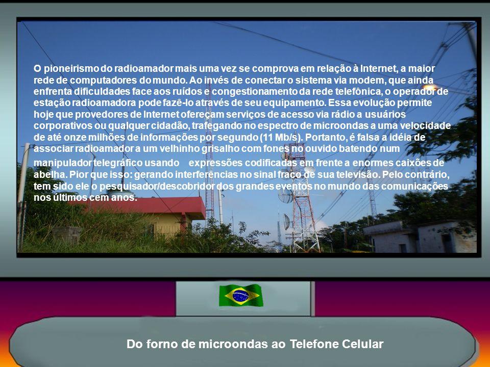 O Radioamador na Internet O Radioamadorismo É um dos mais fascinantes, versáteis e instrutivos hobbies científicos. Teve início com os transmissores e