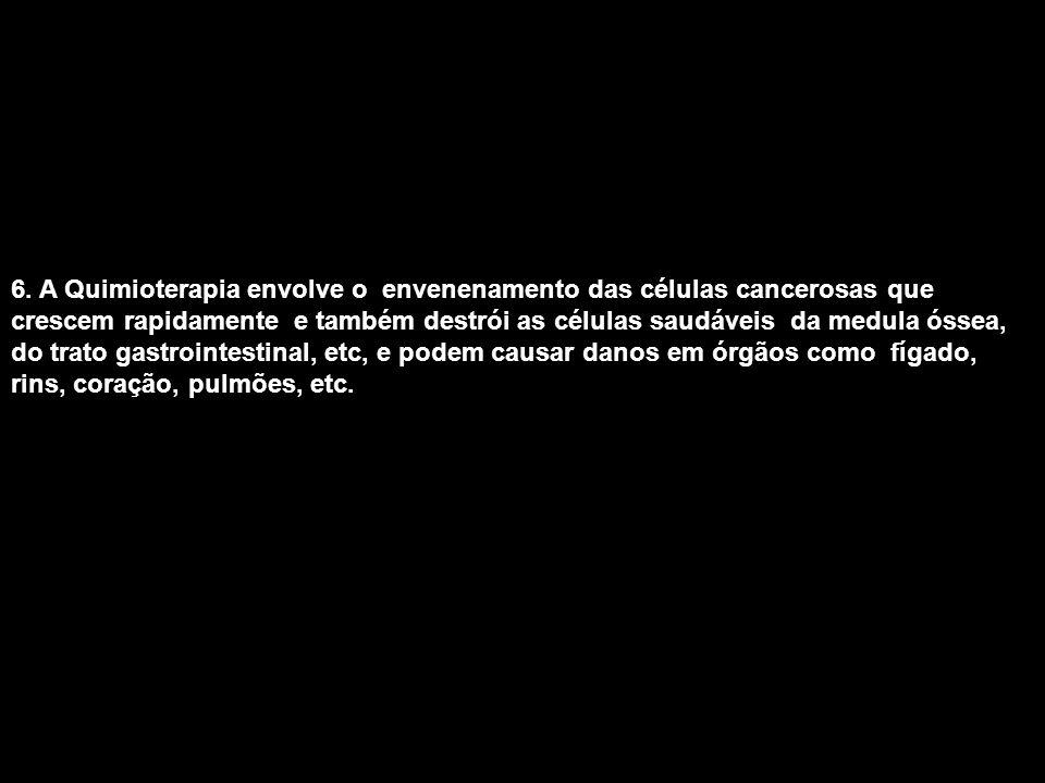 AS CÉLULAS CANCEROSAS SE ALIMENTAM DE: