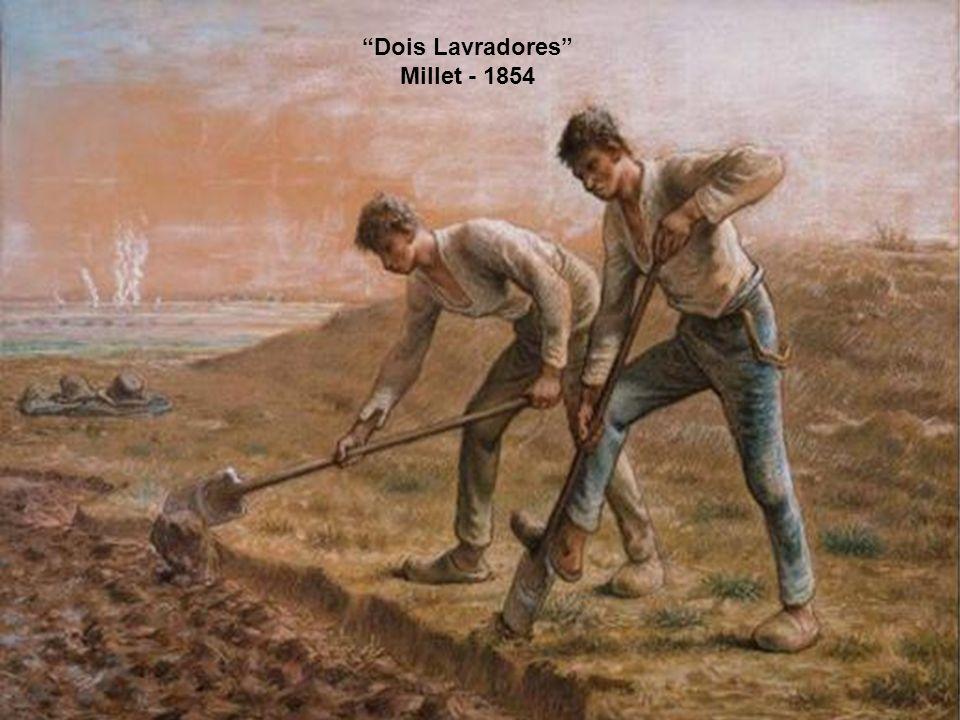 Os tosquiadores de ovelhas Van Gogh - 1889